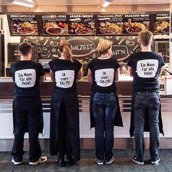 Halver Kaff? Extrawurst in Halver