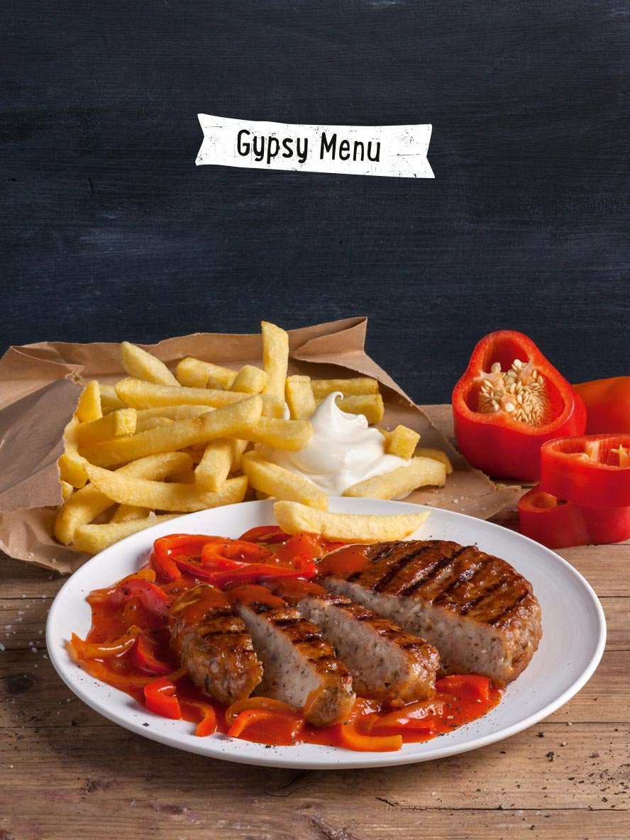 Zigeuner Menü