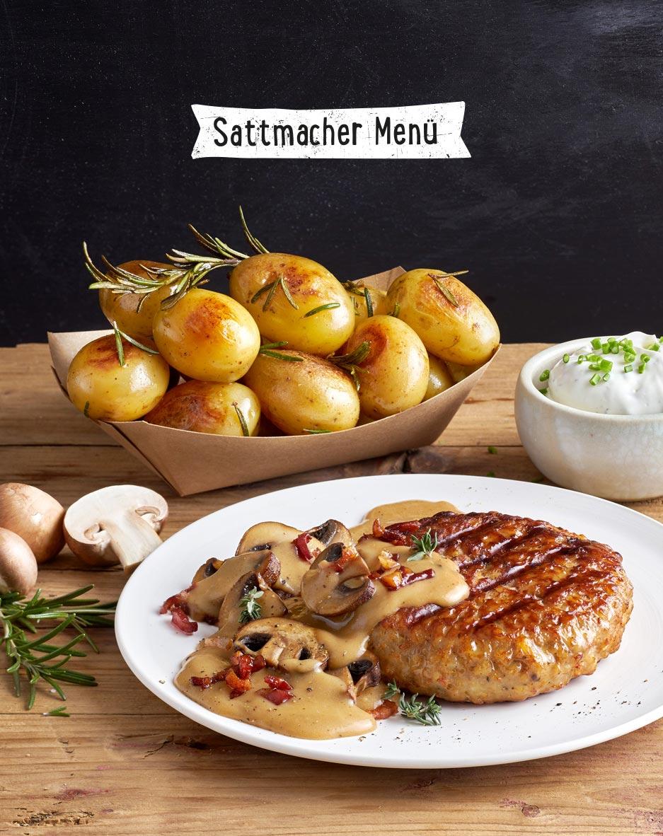 Sattmacher Menü