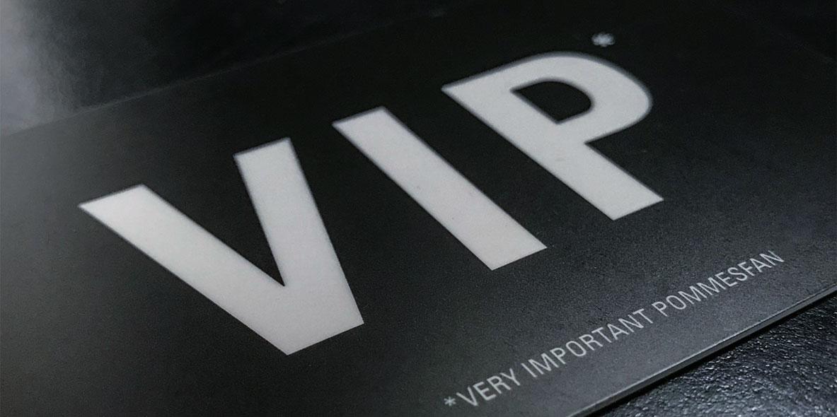 VIP & Gutscheinkarten